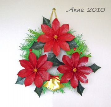 Christmas Wreath Template